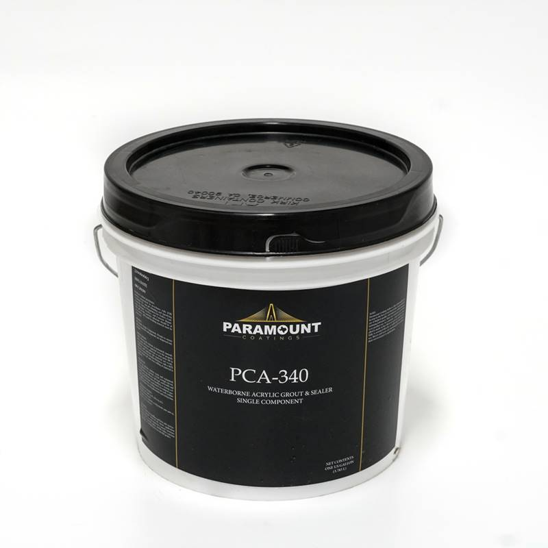 PCA-340 - Acrylic Grout & Sealer for Concrete by Paramount Coatings